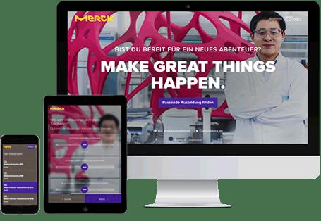 Der Talents Connect Contentfinder
